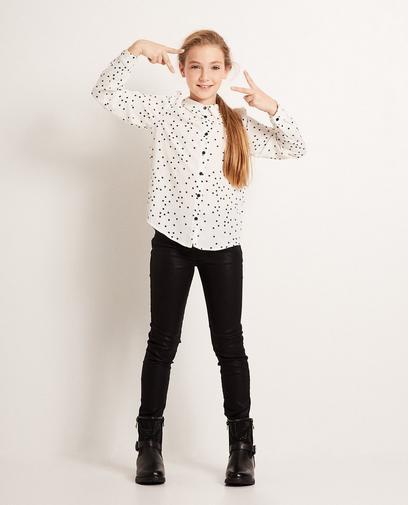 Schwarze Skinny-Jeans